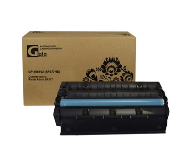 Картридж GP-408162 (SP377HE) для принтеров Ricoh Aficio SP377 6400 копий GalaPrint - фото 4569