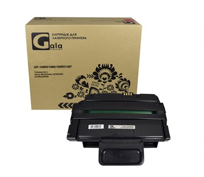 Картридж GP-106R01486/106R01487 для принтеров Xerox WorkCentre 3210/3220/3210N/3220DN 4100 копий GalaPrint - фото 4519