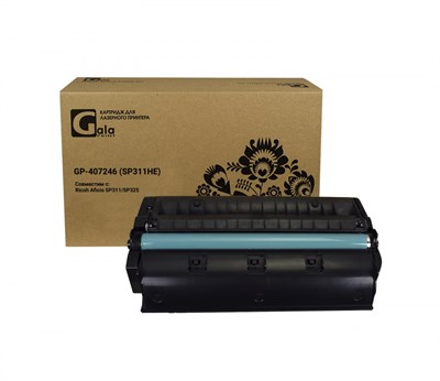 Картридж GP-407246 (SP311HE) для принтеров Ricoh Aficio SP311/SP325 3500 копий GalaPrint - фото 4554