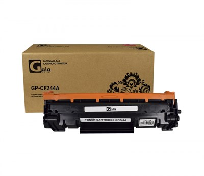 Картридж GP-CF244A (№44A) для принтеров HP LaserJet Pro M28a/M28w/M15a/M15w 1000 копий GalaPrint - фото 4765